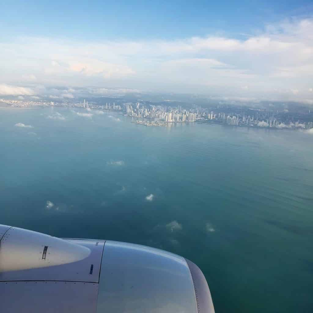 Pousando no Panamá - Copa Airlines