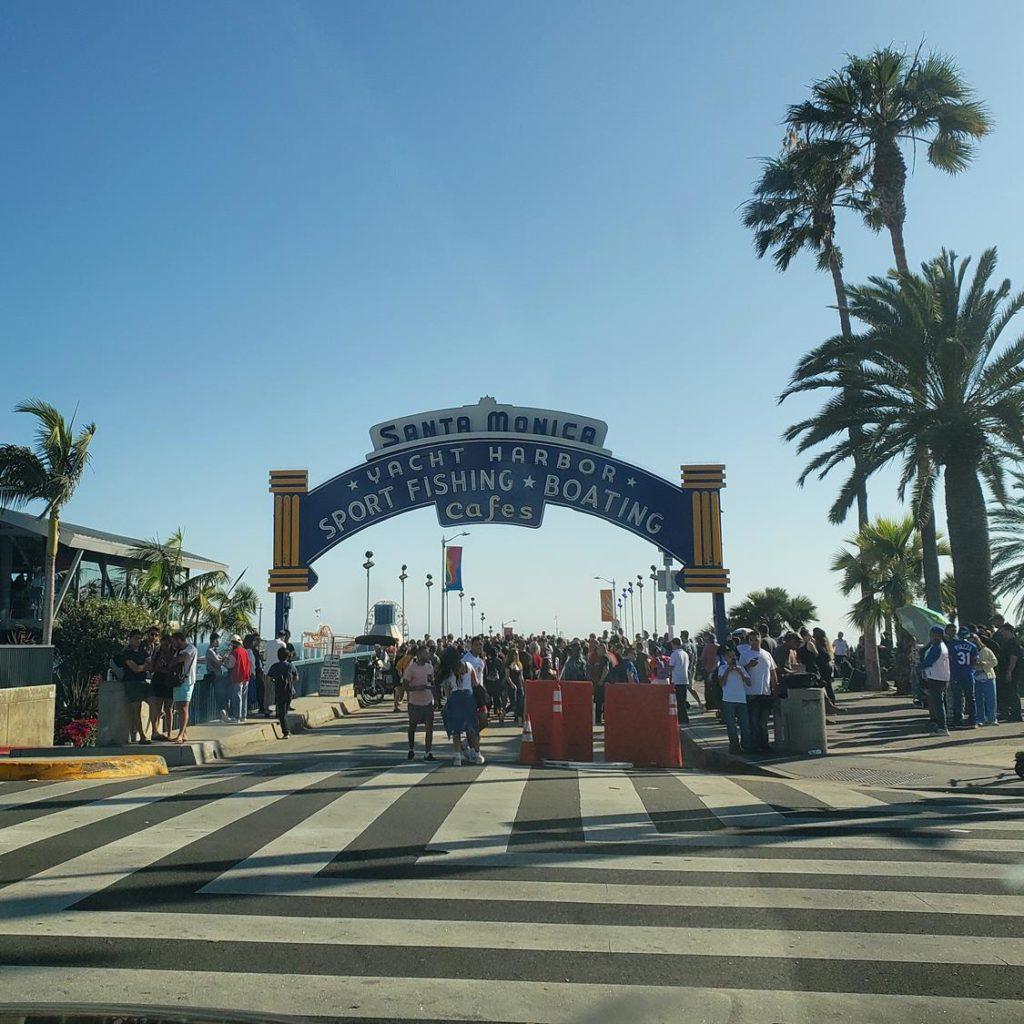 Praias de Los Angeles - Santa Monica Pier