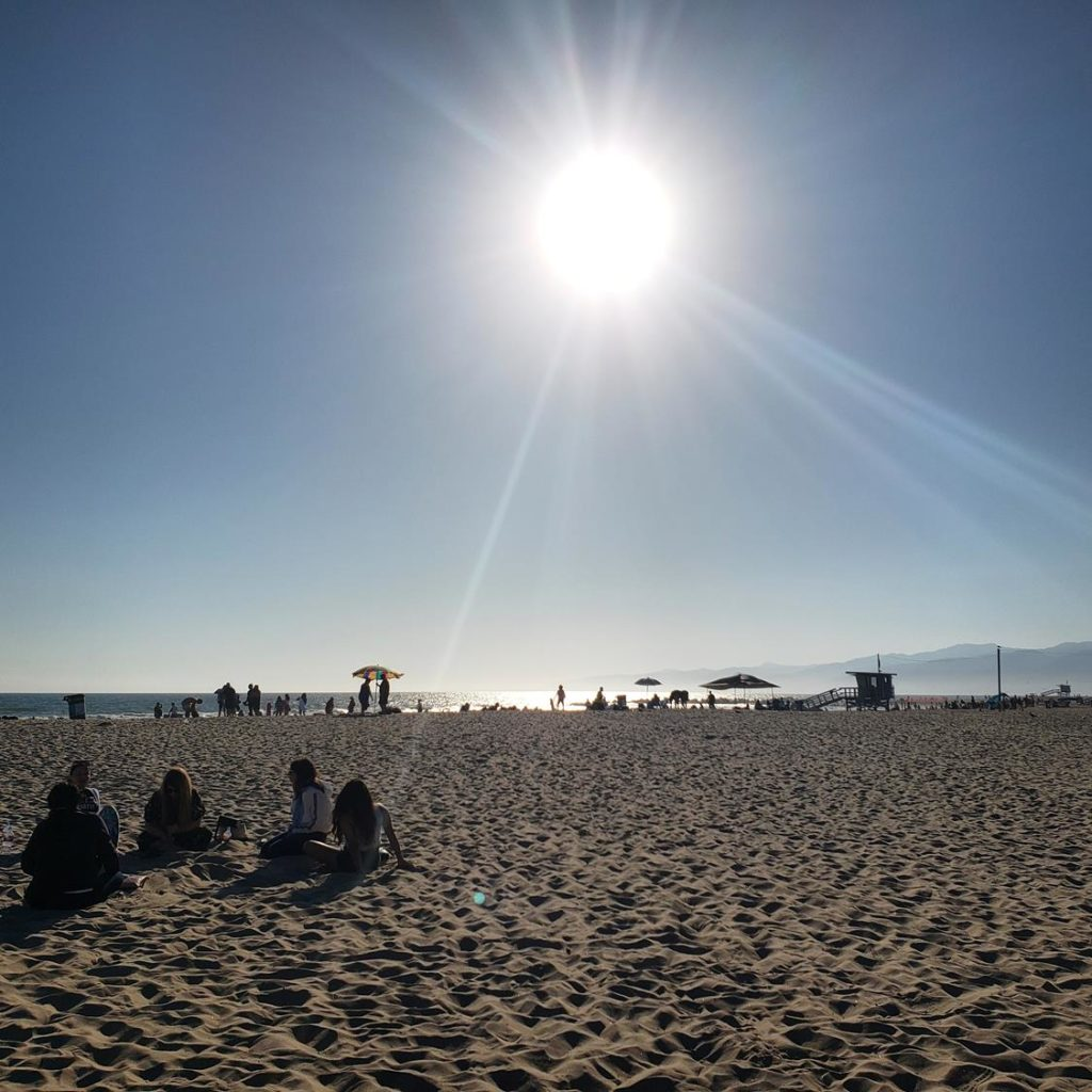 Praia de Los Angeles - Venice Beach