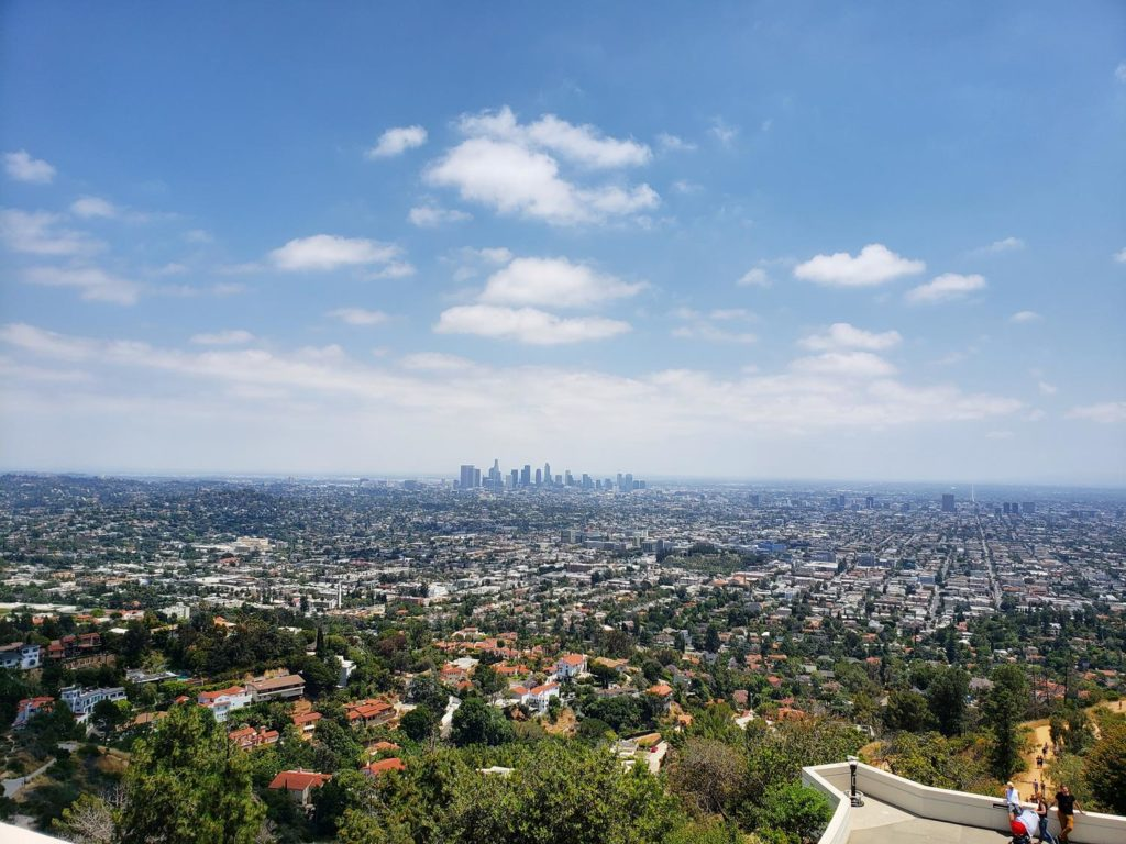 Vista de Los Angeles - Griffity Park