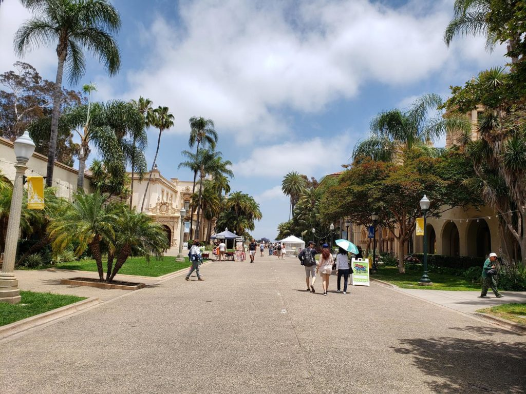 Balboa Park na California