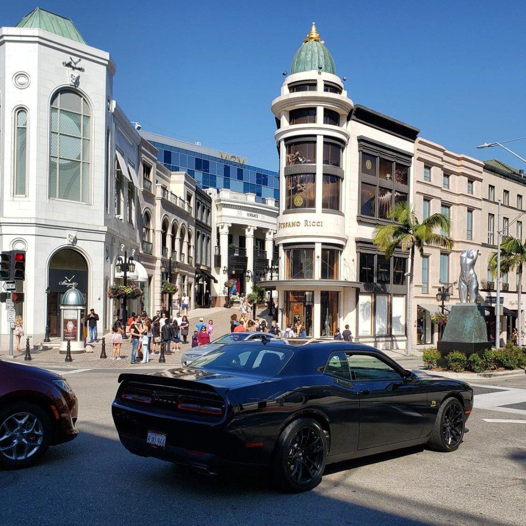o que fazer em Beverly Hills - Rodeo Drive