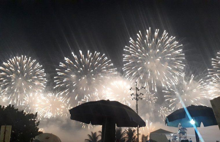 Fogos Réveillon Rio de Janeiro