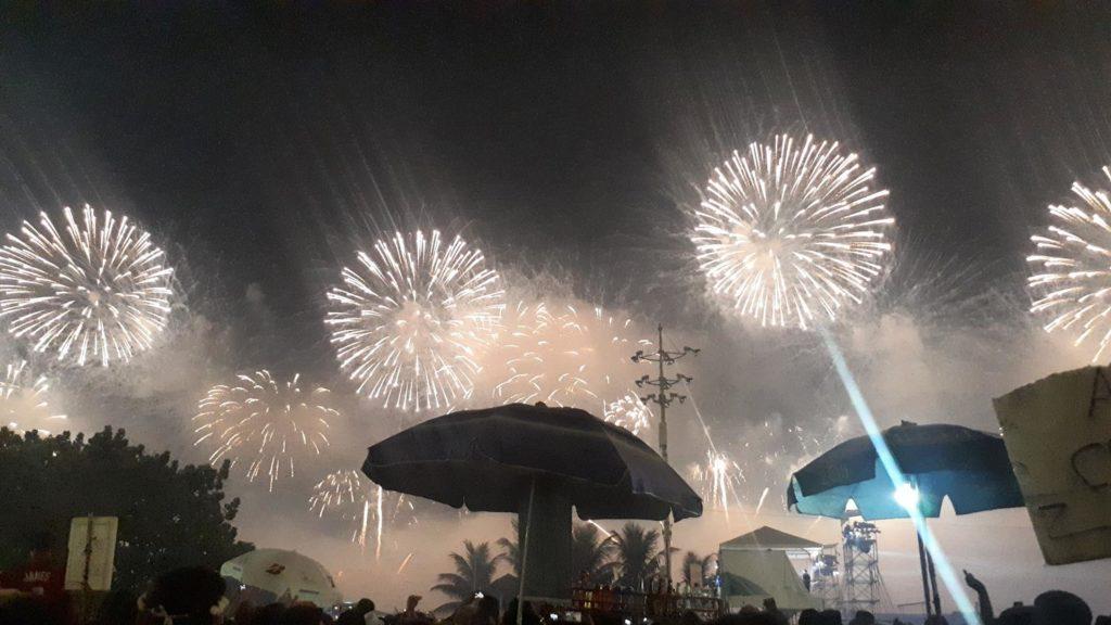 Fogos Réveillon Copacabana