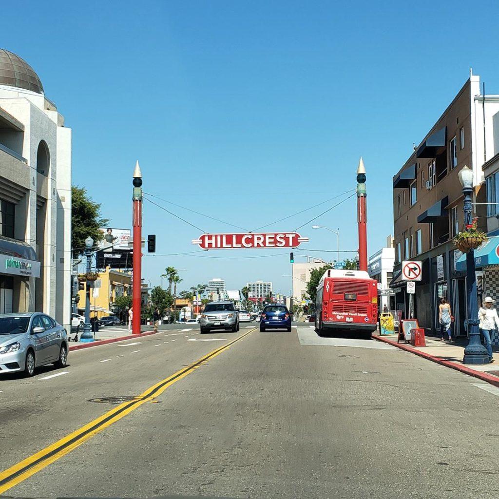Hillcrest - o bairro gay de san Diego