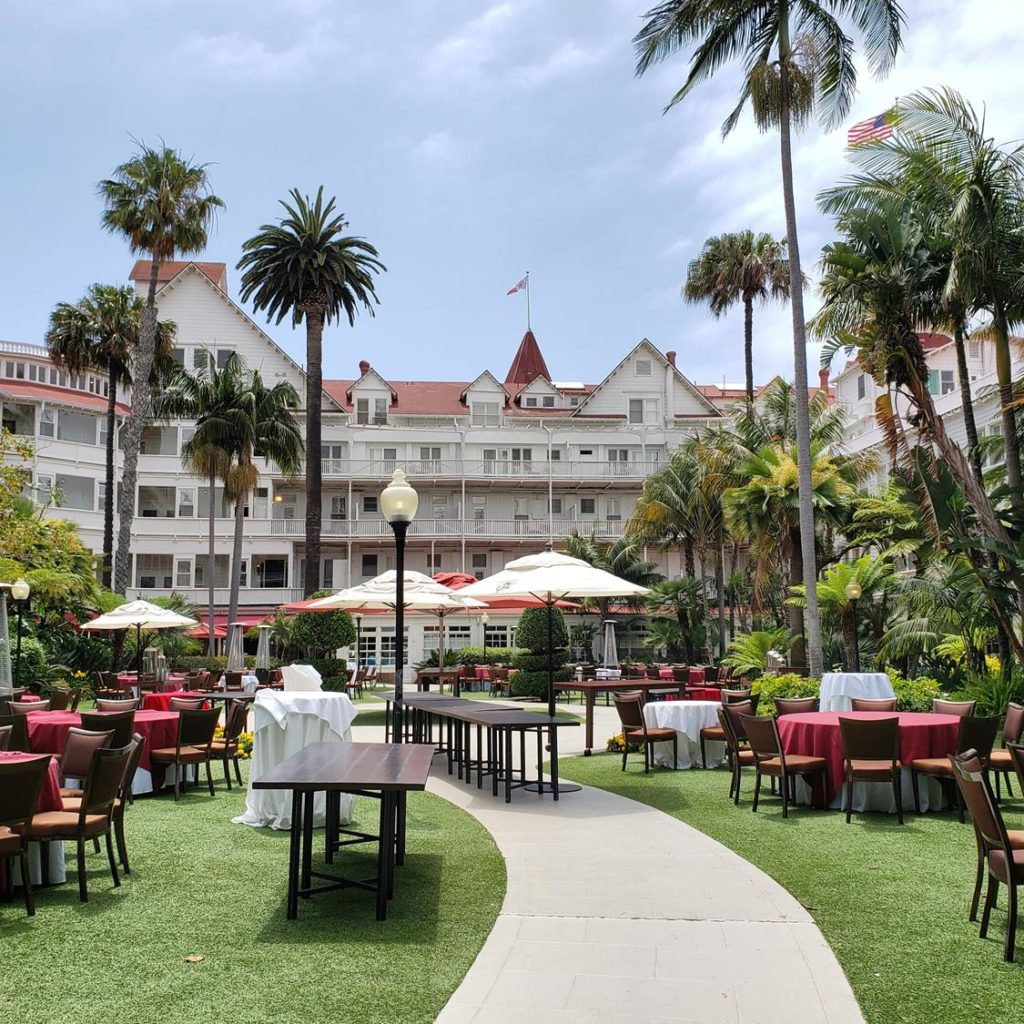 Hotel del Coronado - onde se hospedar em San Diego