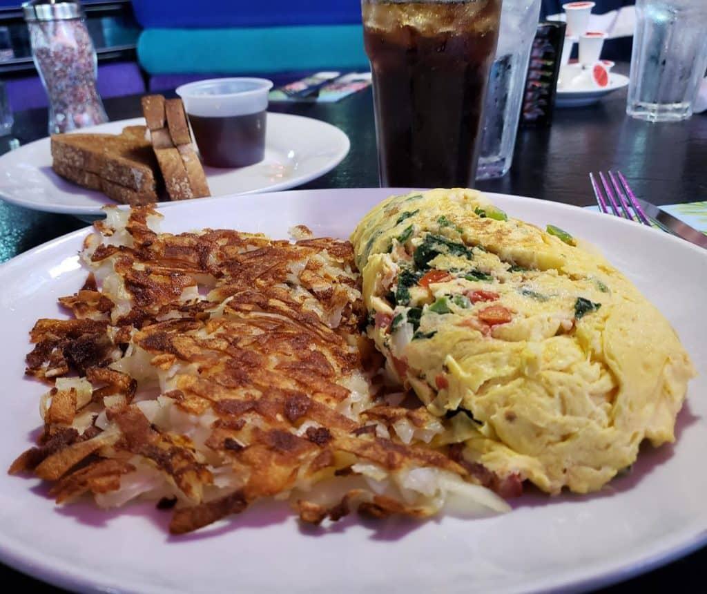 Peppermill Las Vegas - onde tomar café da manhã em Vegas