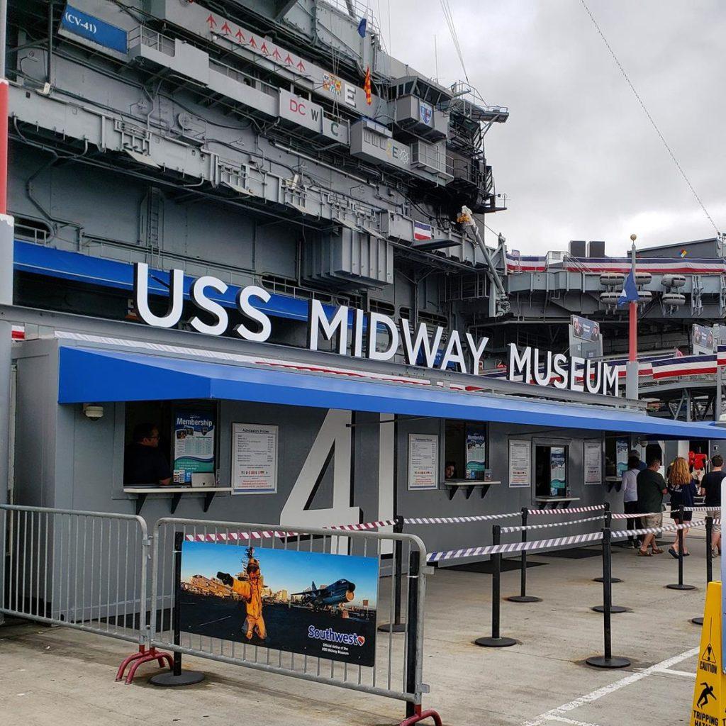 museu em San Diego - USS Midway
