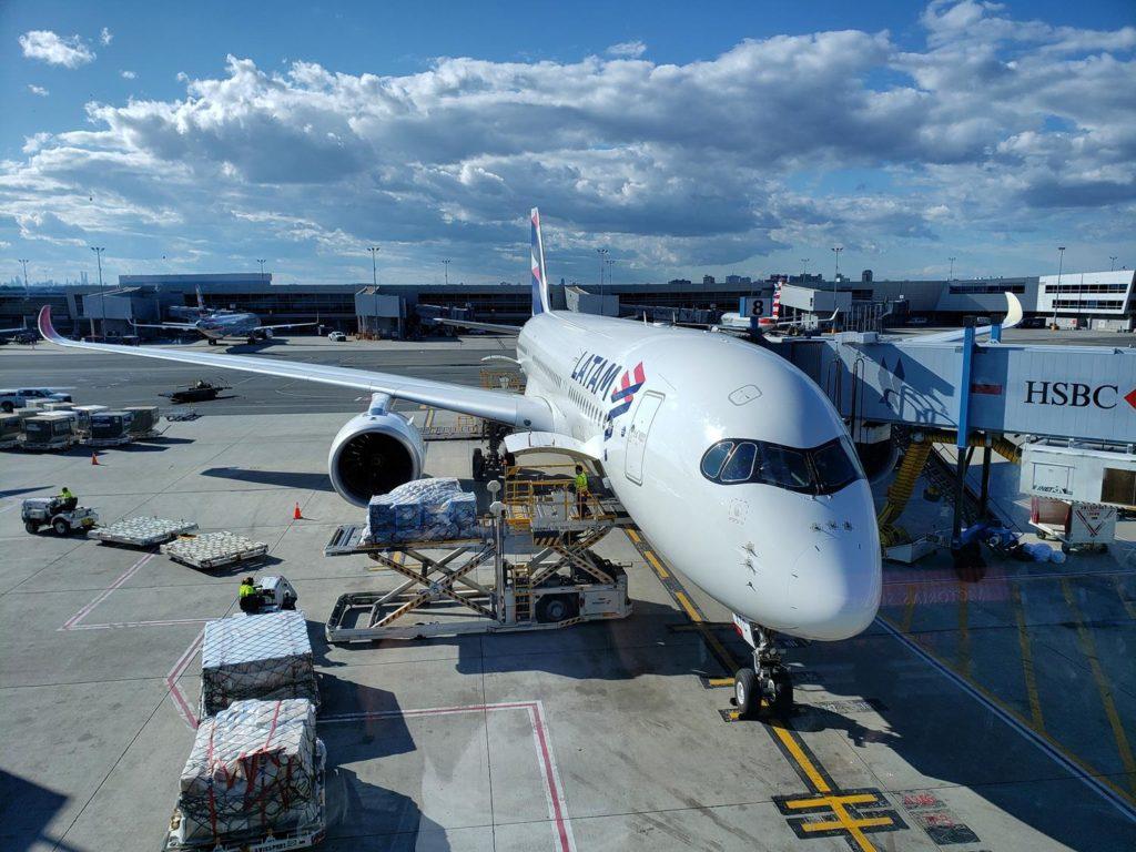 A350 Latam - Latam de Nova York até São Paulo