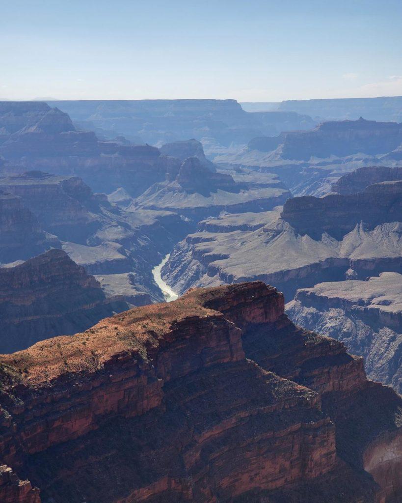 Rio Colorado no Grand Canyon