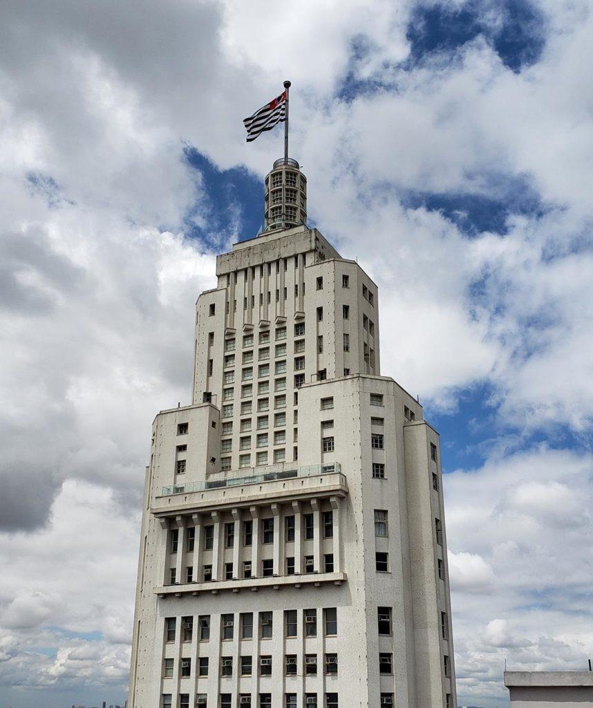 Edifício Martinelli vista para Farol Santander