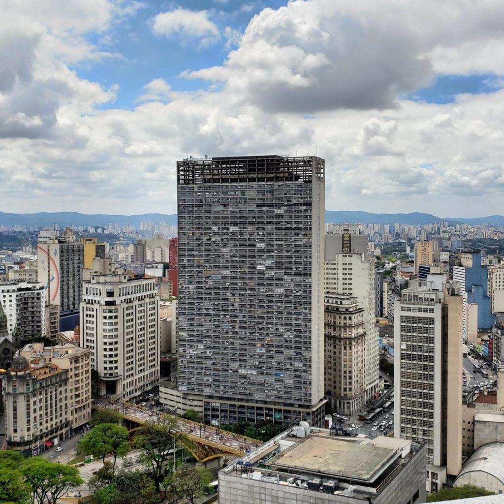 Skyline de São Paulo - Vista Edifício Martinelli