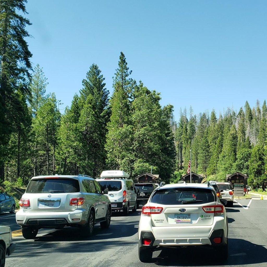 Como chegar em Yosemite