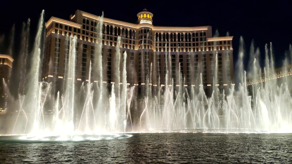 Fonte do Bellagio em Vegas