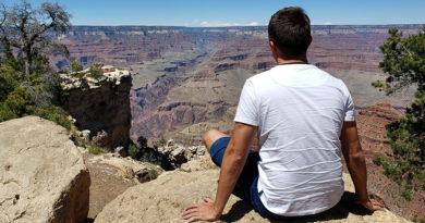 diego cabraitz arena, um dia no grand canyon