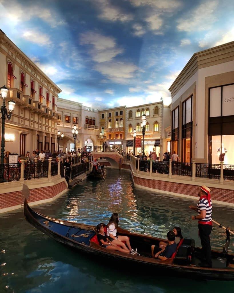 Interior Hotel Venetian Las Vegas