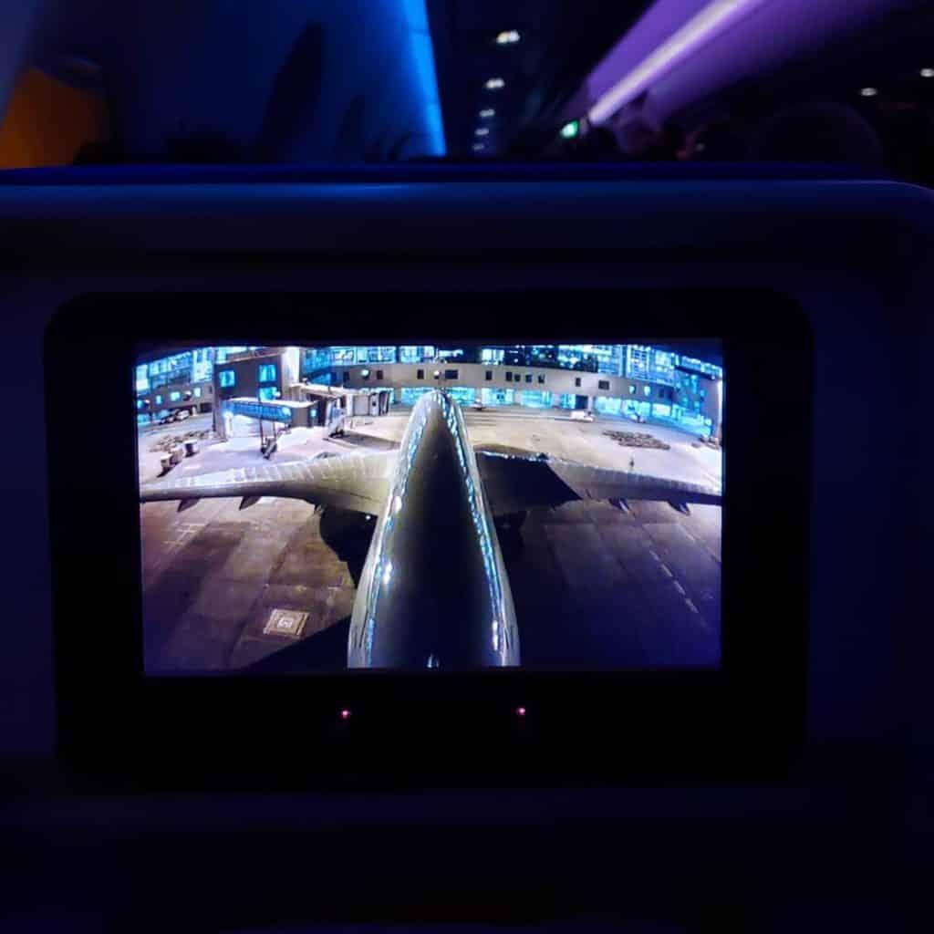 Interior A350 Latam - Latam de Nova York até São Paulo