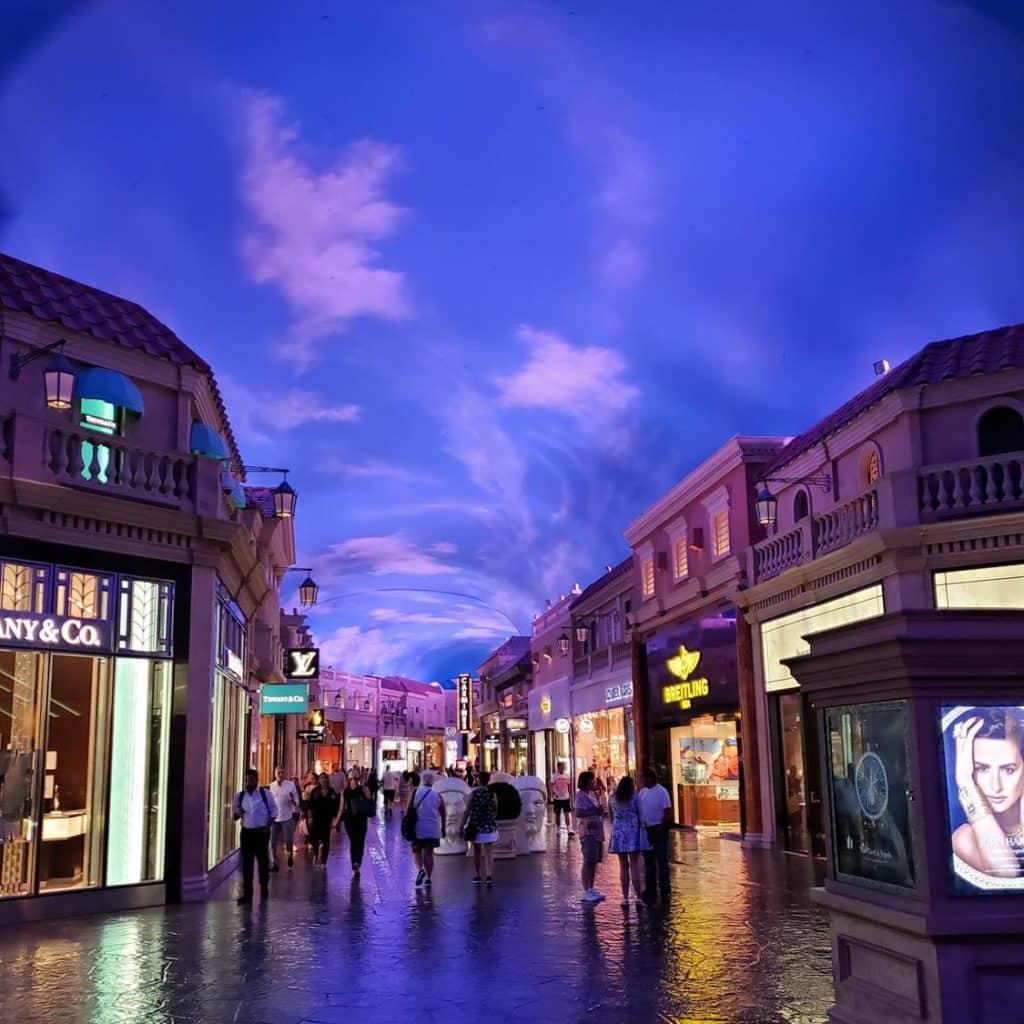 The Forum Shops - Caesars Hotel