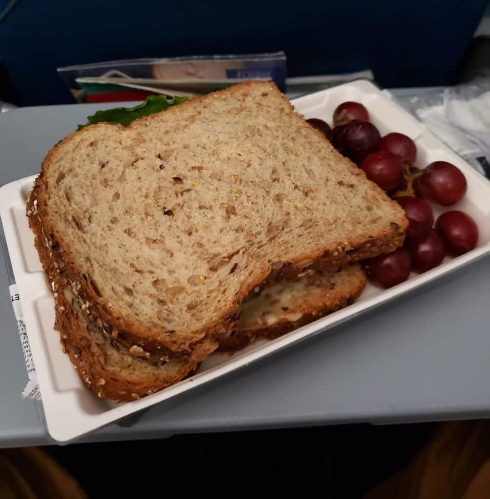 Serviço de Bordo Delta Airlines