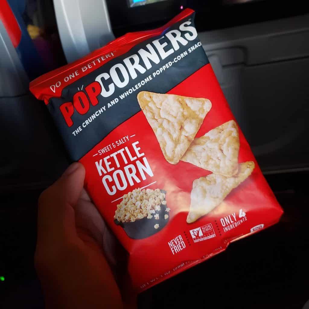 Alimentação Delta Airlines