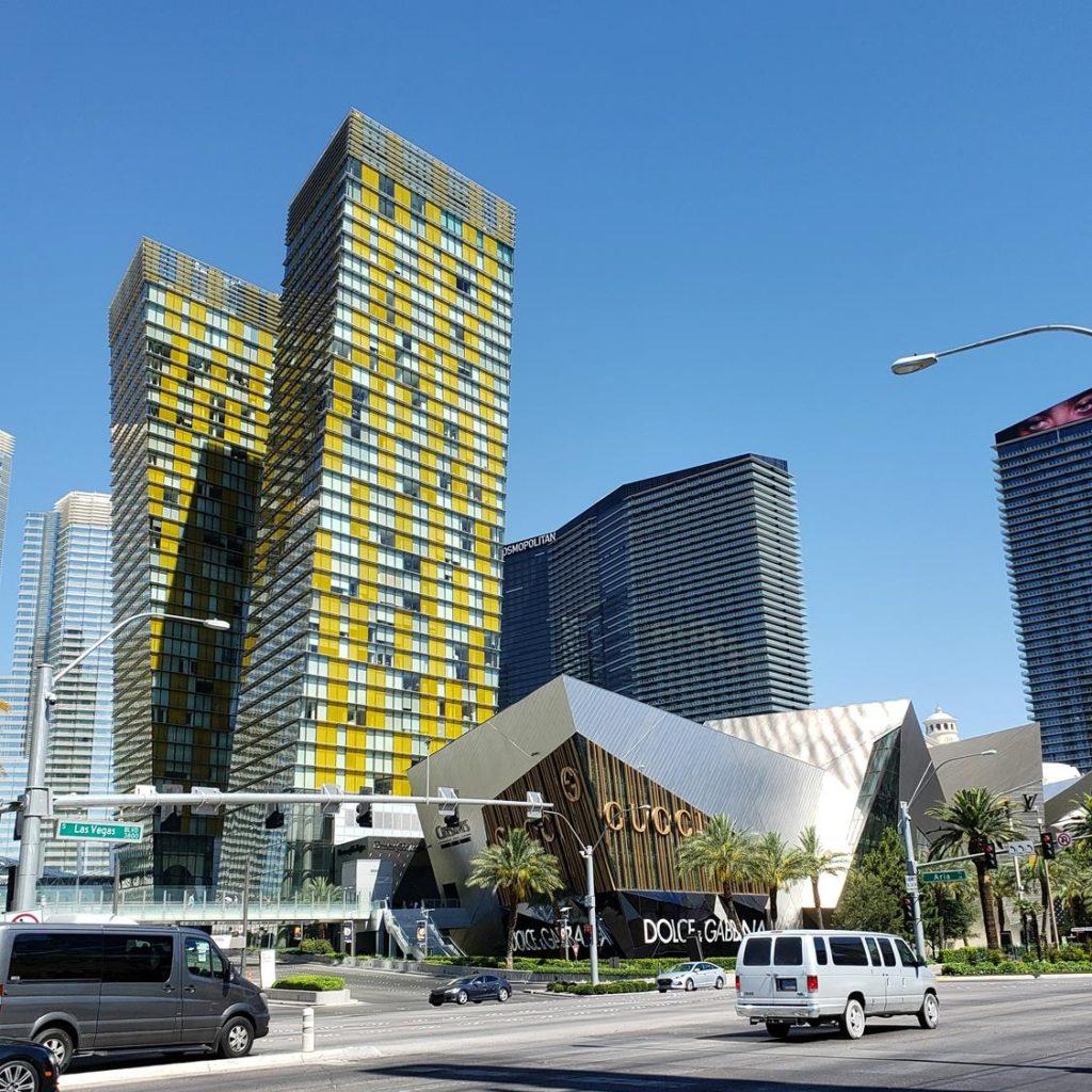 Shopping Aria Crystals Las Vegas