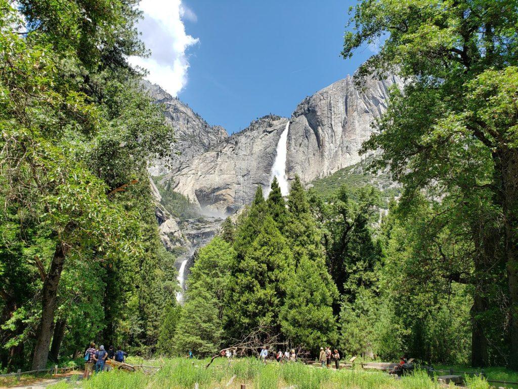 Parque Nacional de Yosemite - cataratas de yosemite