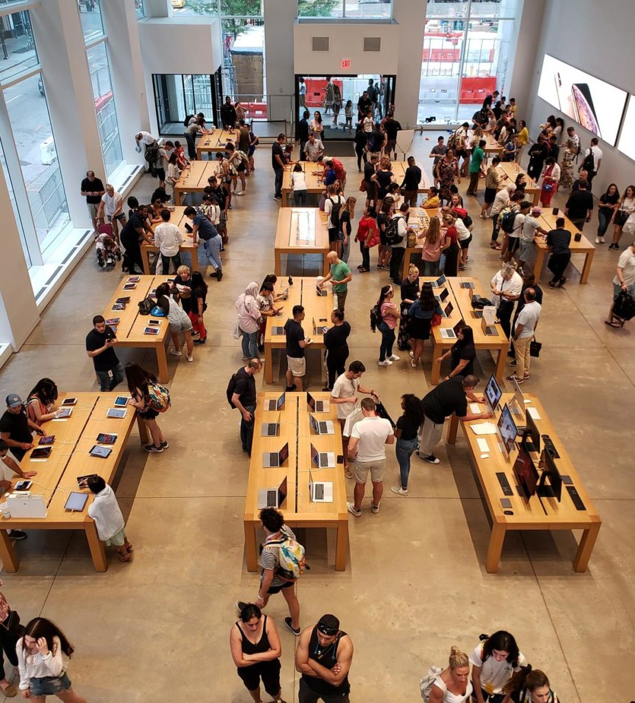 onde comprar iphone em Nova York - apple store