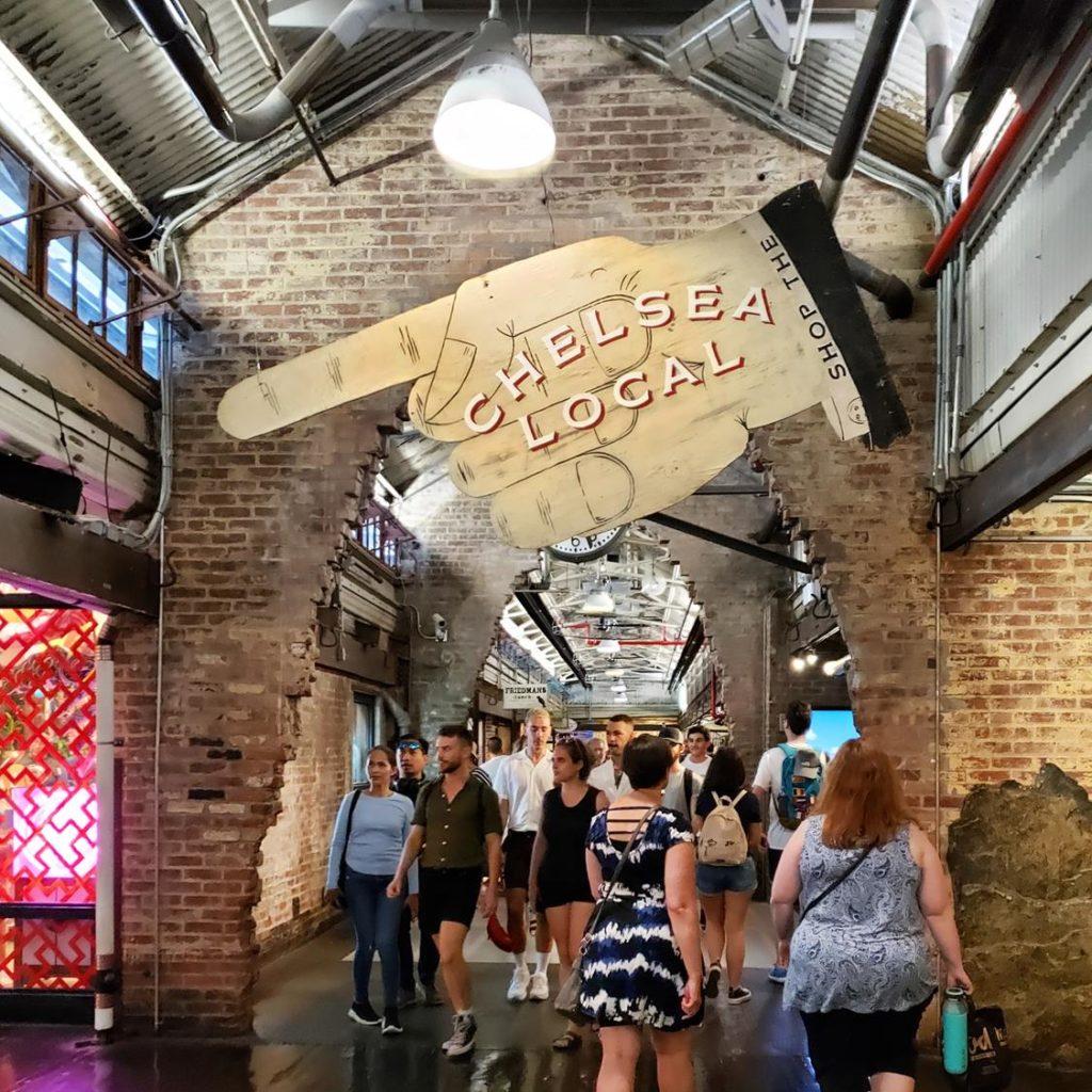onde comer em Nova York - chelsea Market
