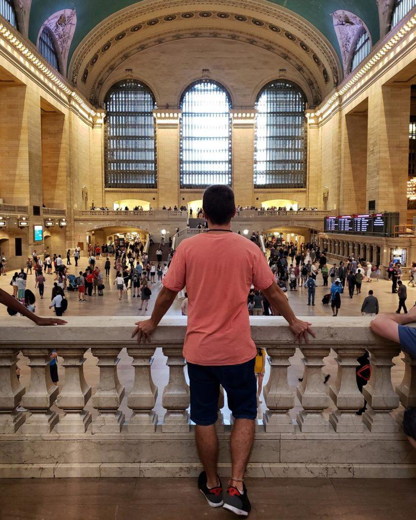 Estação Central Nova York - Diego Cabraitz Arena
