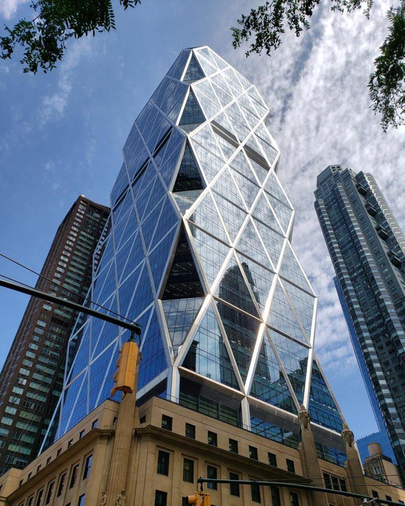 Hearst tower - projeto de Norman Foster em Nova York