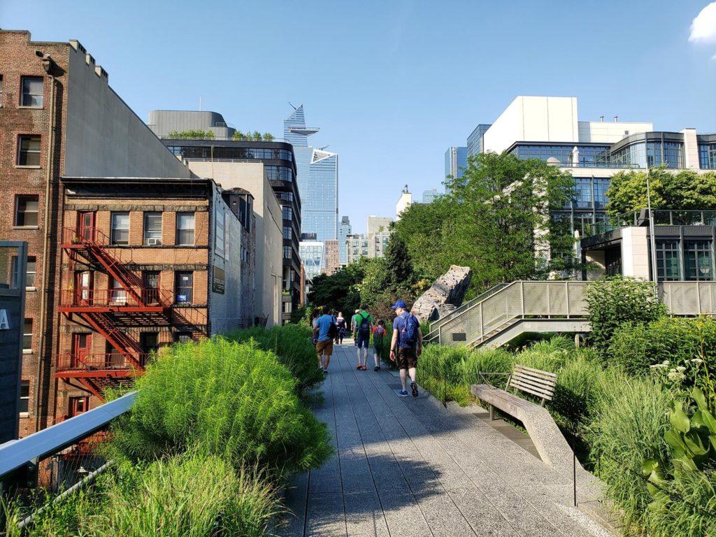Highline Park em Nova York