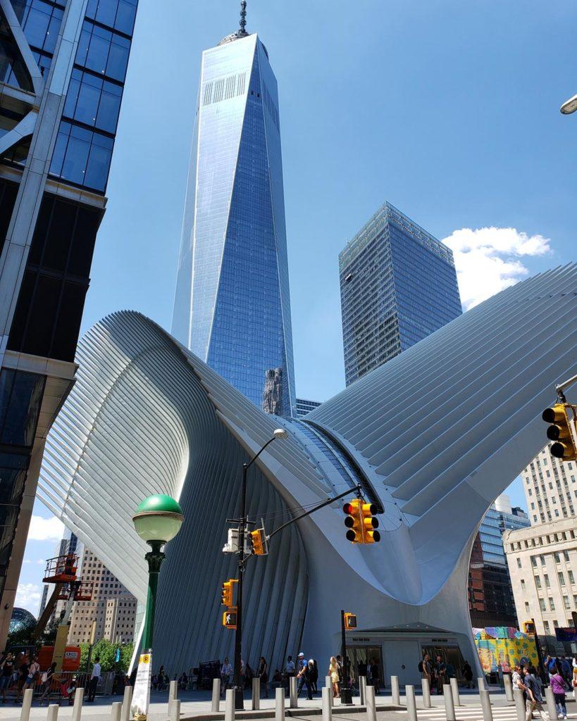 Oculus - Santiago Calatrava em Nova York