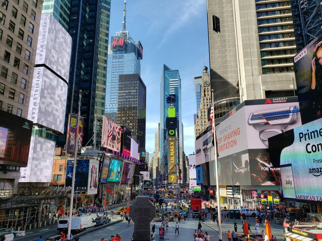 o que fazer em Times Square