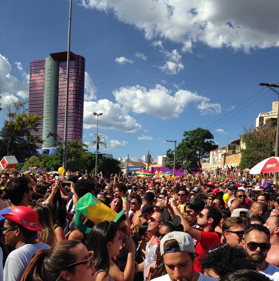Bloquinho de rua de carnaval São Paulo 2020