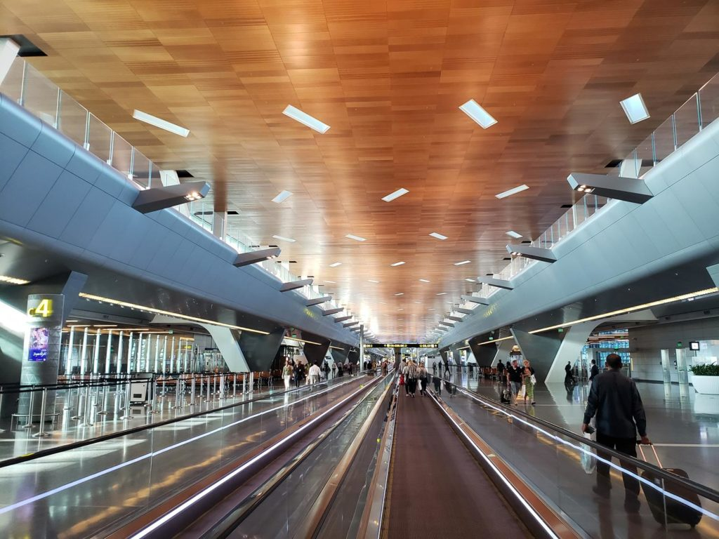 o Aeroporto Internacional de Doha