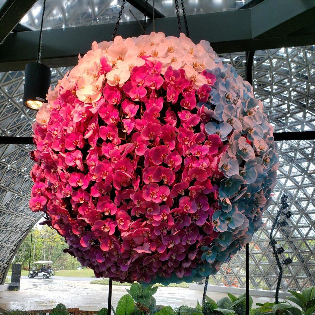 Arranjo de Flores no Floral Fantasy
