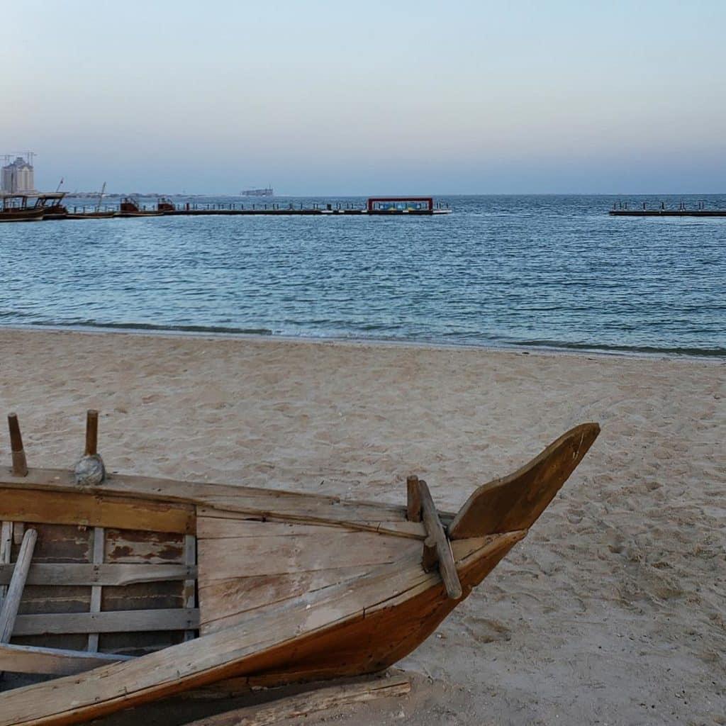 Praia Katara, Doha
