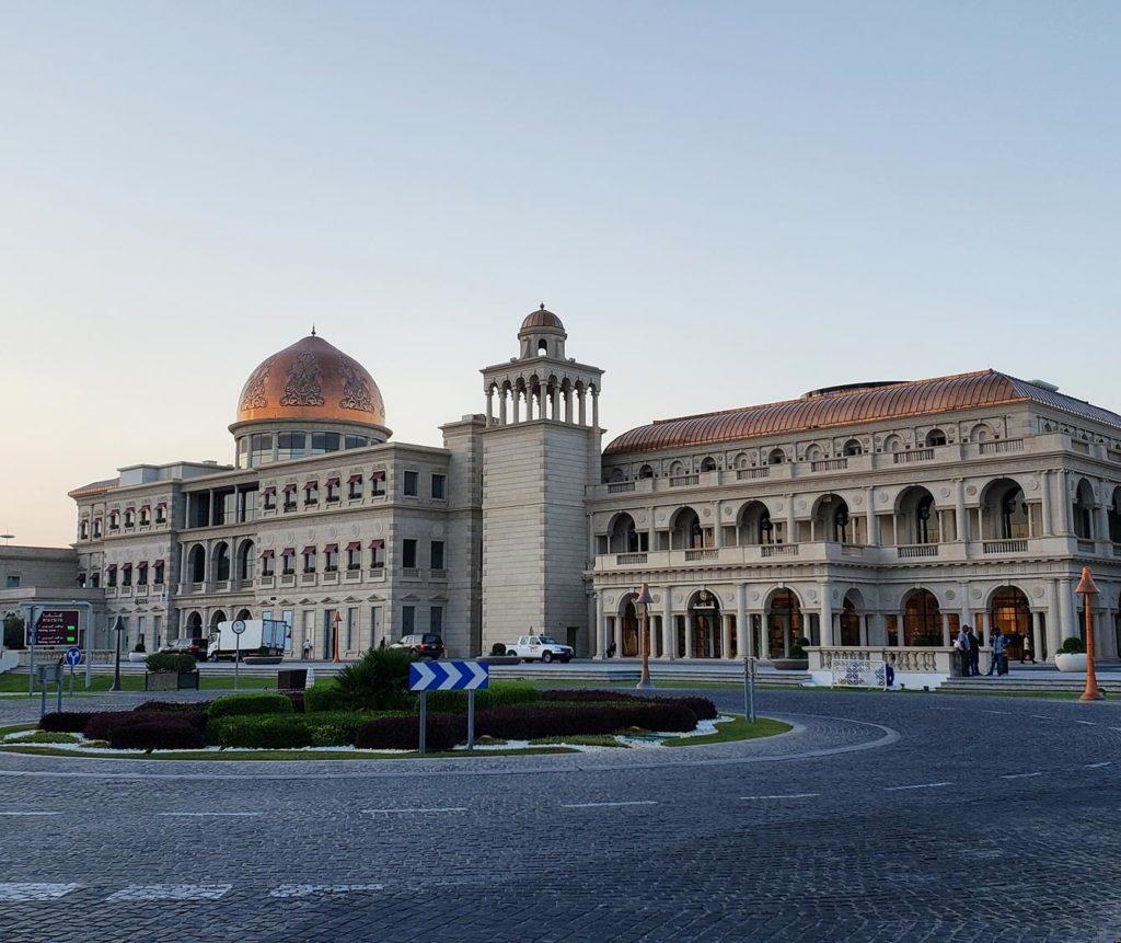 Centro Cultural Katara, em Doha - Qatr