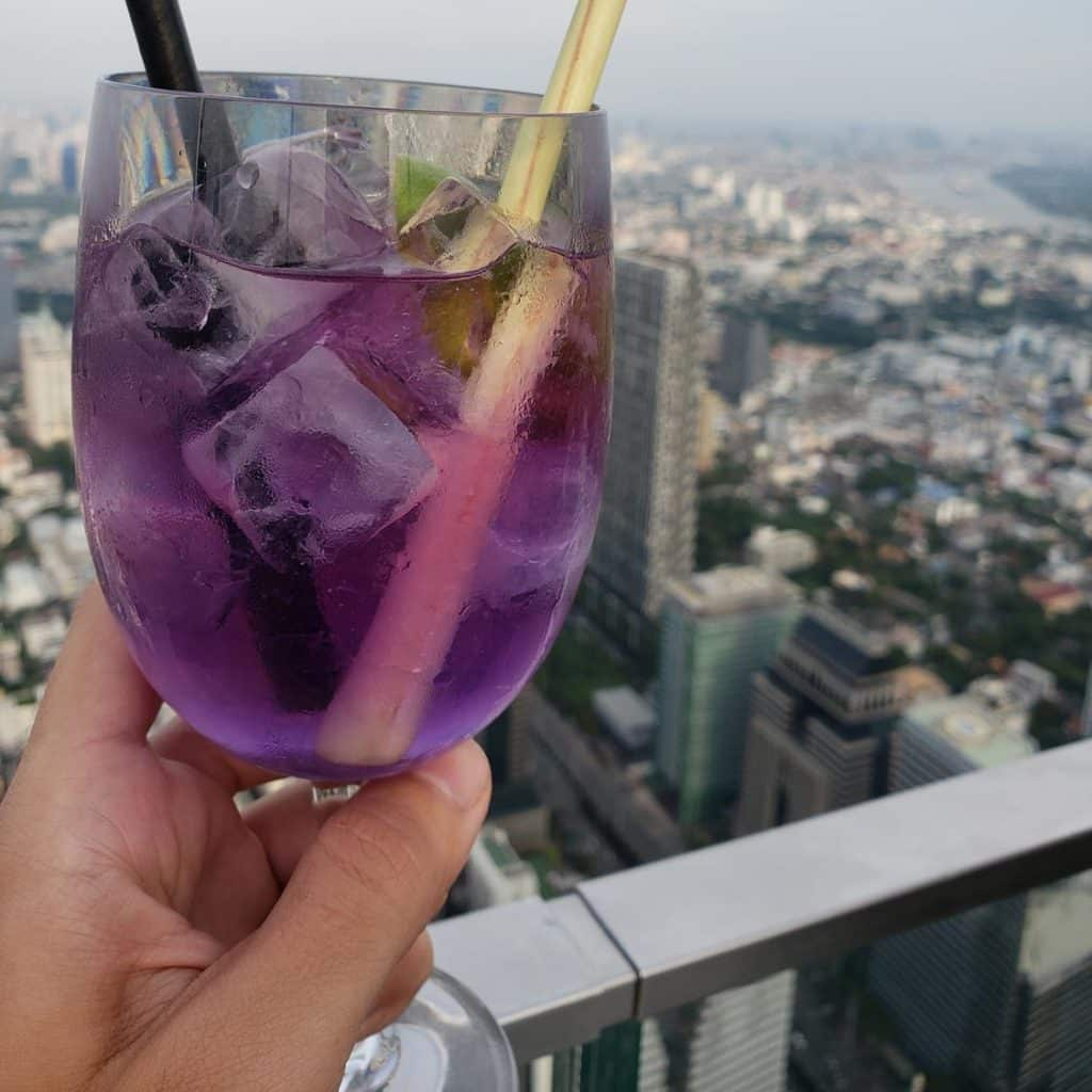 king power mahanakhon - Welcome Drink