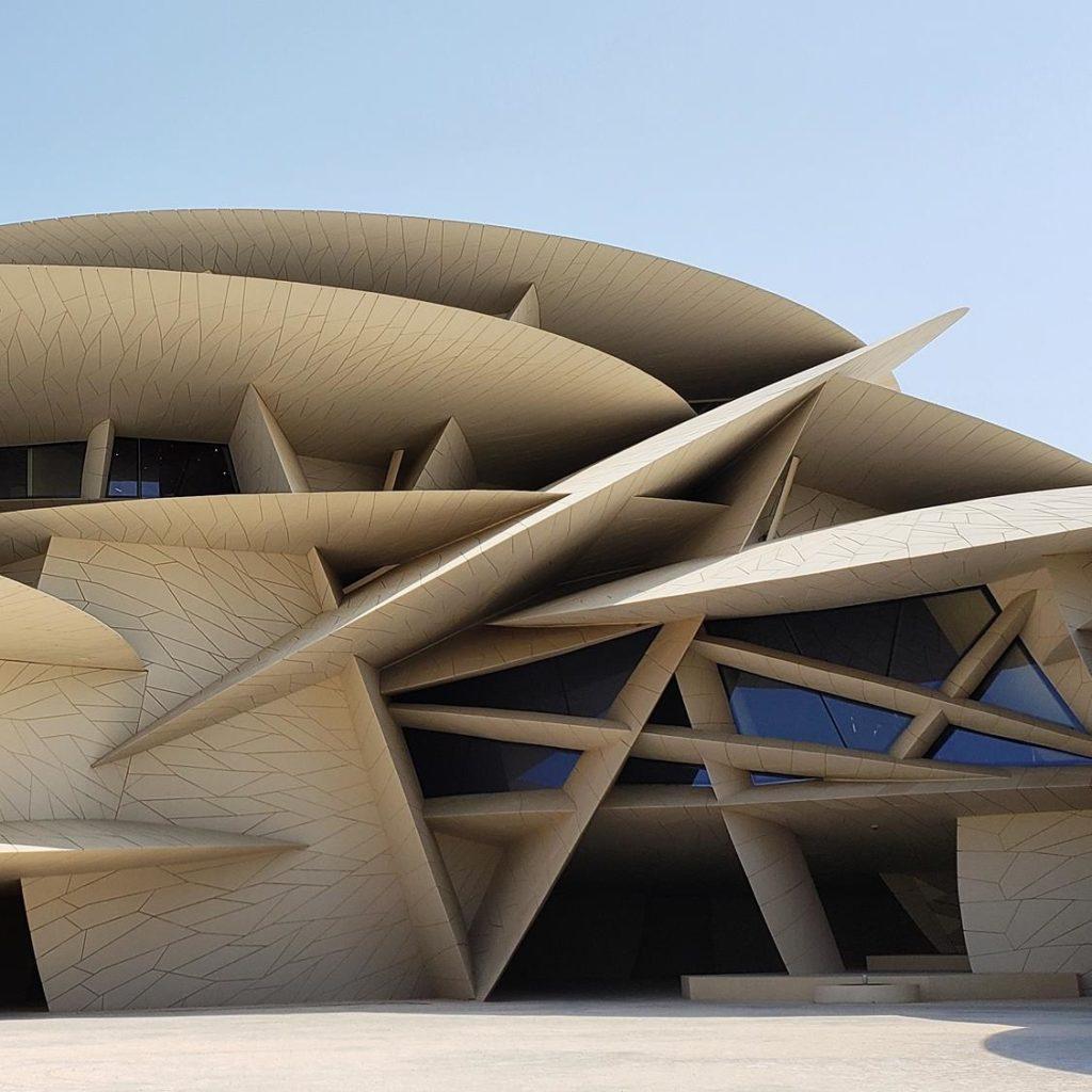 Museus em Doha - National Museum of Qatar - Jean Nouvel