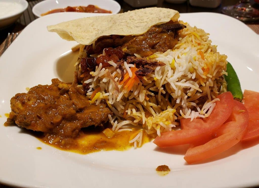 o que comer em Doha - prato tipico do Qatar