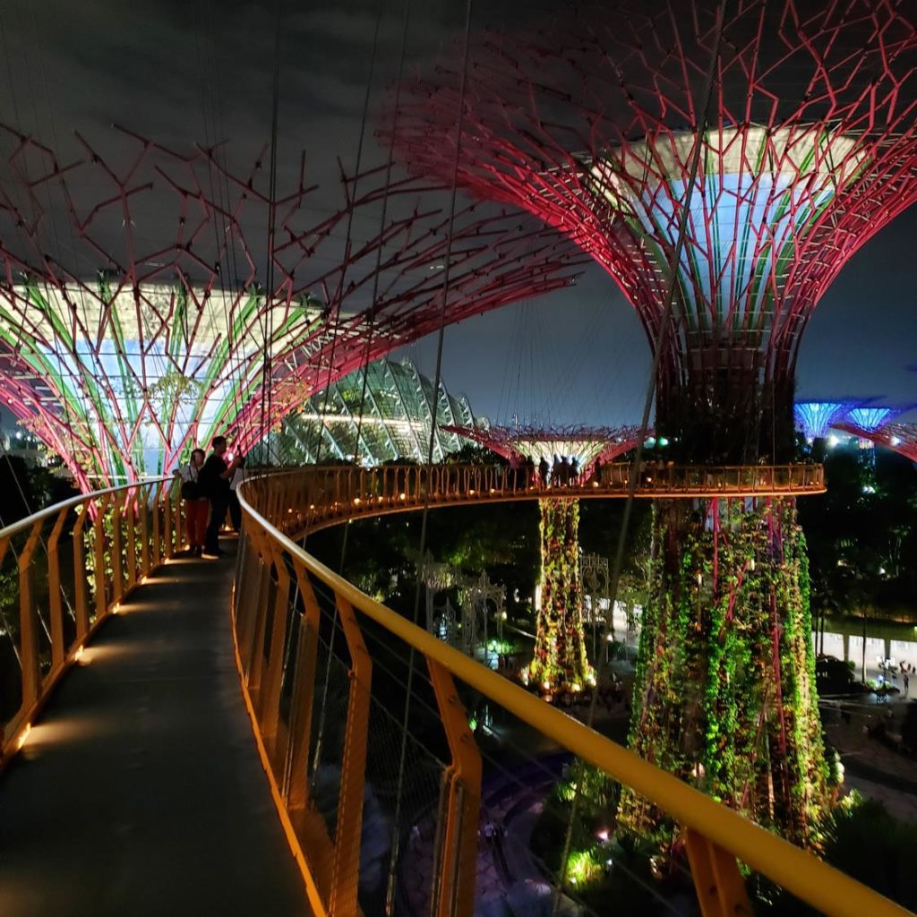 OCBC Skywalk Gardens by the bay