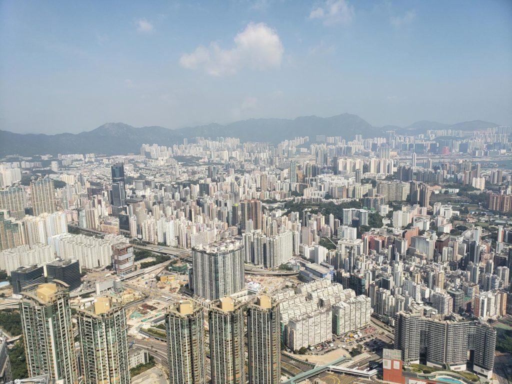 O que fazer em Hong Kong - Vista da cidade de Hong Kong - Sky 100
