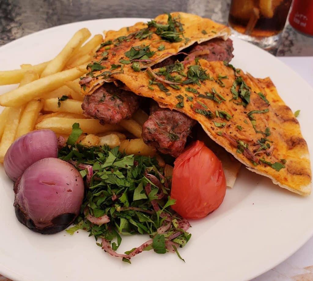 o que comer em Doha