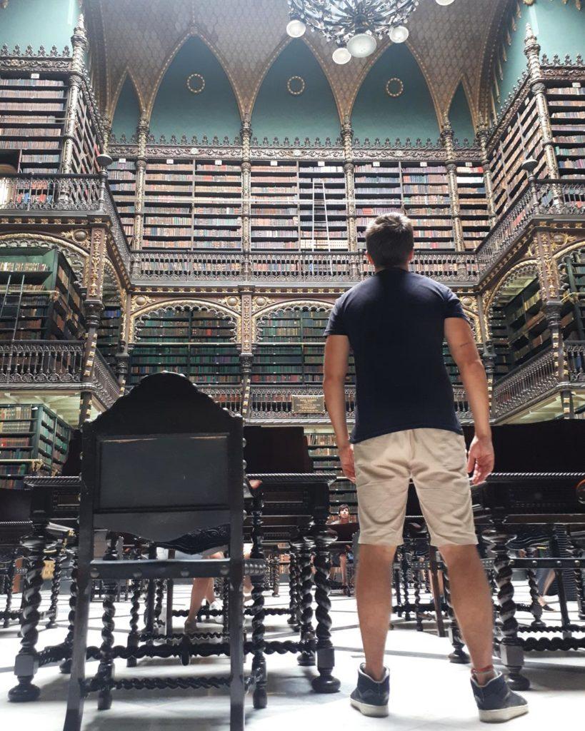 Biblioteca Rio de Janeiro -  Real Gabinete Português de Leitura - Diego Cabraitz Arena
