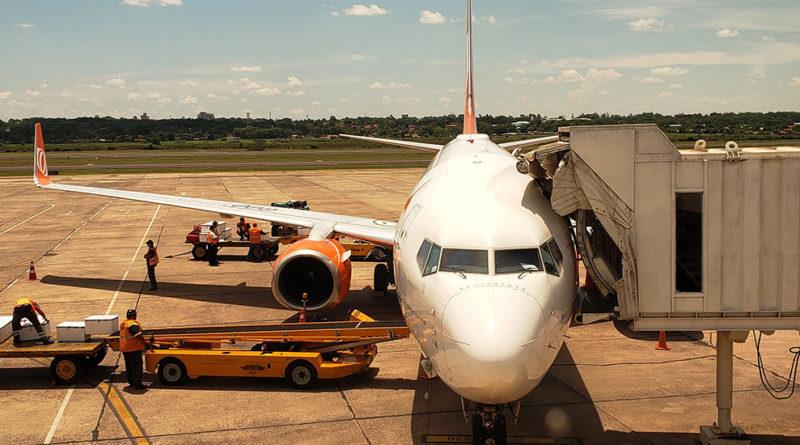 Voando Gol de São Paulo até Assunção - Aeroporto de Assunção