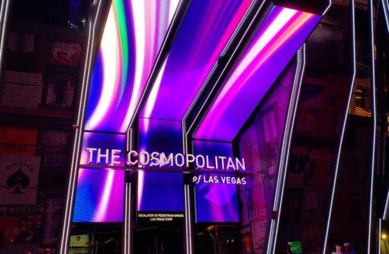 Entrada do Hotel Cosmopolitan Las Vegas