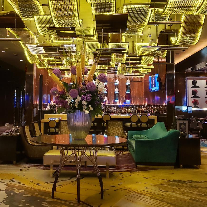 Hall Hotel Cosmopolitan Las Vegas - onde se hospedar em las vegas