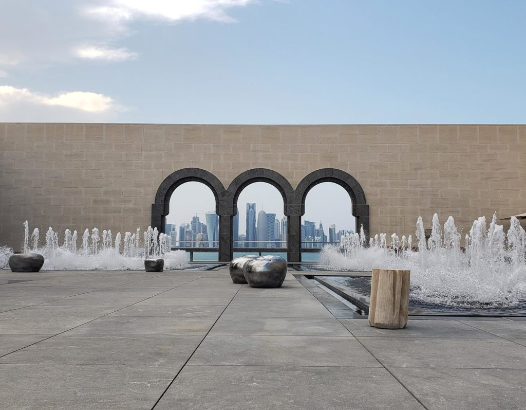 Area externa MIA, em Doha