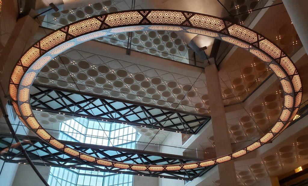 arquitetura Museu de Arte Islamica, Doha
